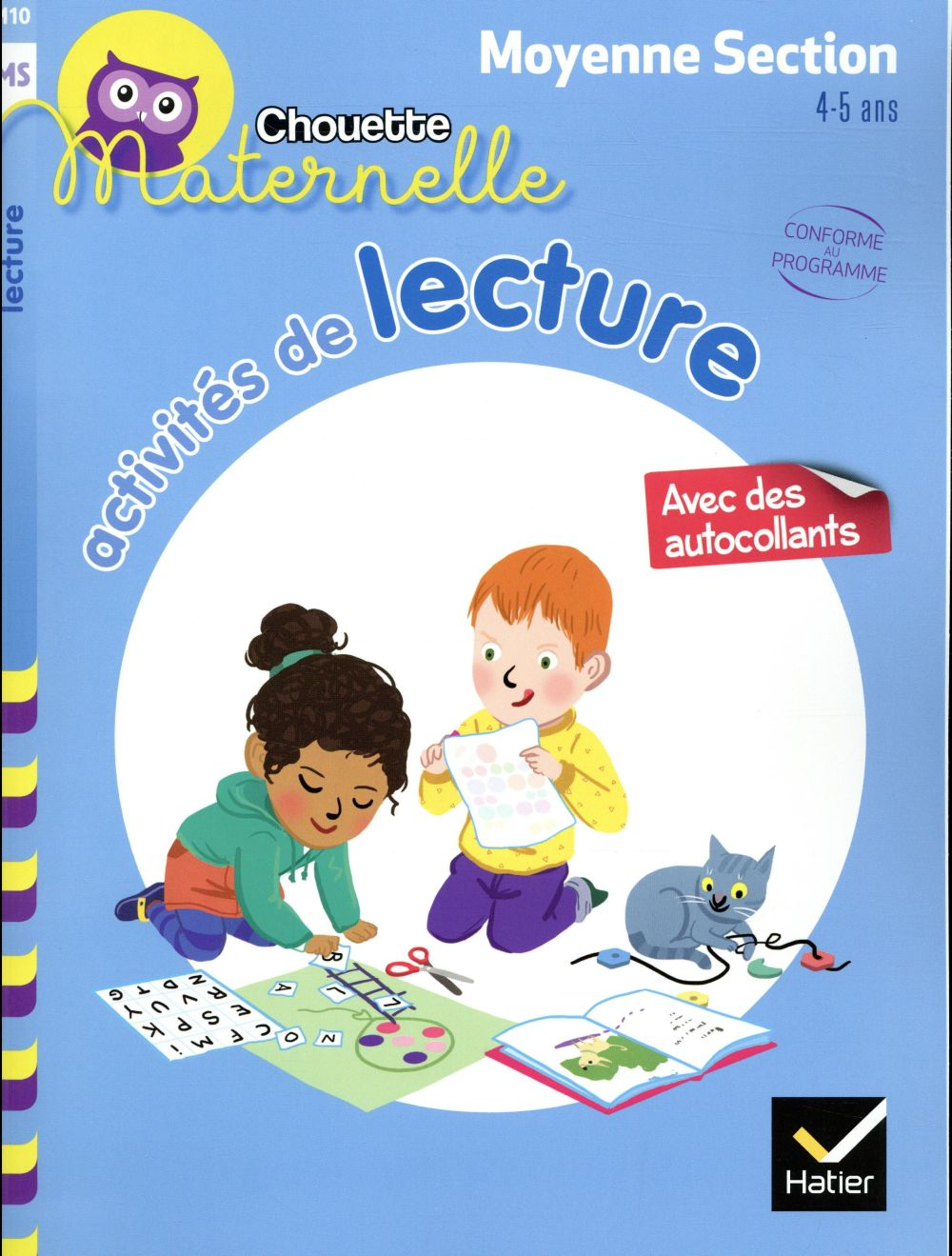 ACTIVITES DE LECTURE MOYENNE SECTION
